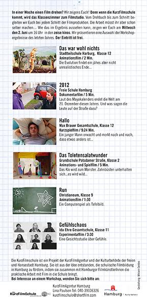 KurzFilmSchul-Flyer 2011