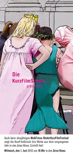 KurzFilmSchul Flyer 2016