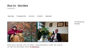 Webseite KarinGerdes