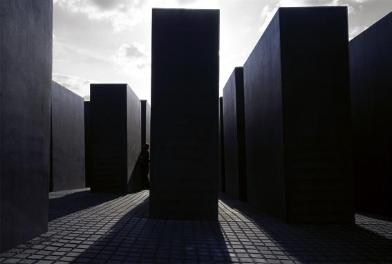 Denkmal für die ermordeten Juden Europas, Holocaust-Mahnmal, Berlin 2005 Architekt : Peter Eisenman