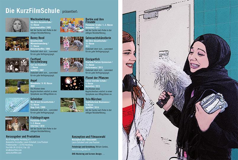 KurzFilmSchul DVD-Cover 2015