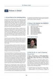Lichtenberg-Kolleg Katalog